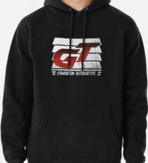 Edmonton Auto - Red & White - Slotted Up Pullover Hoodie