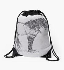 Spirit of the Mustang Drawstring Bag