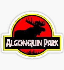 Jurassic Algonquin Park Sticker