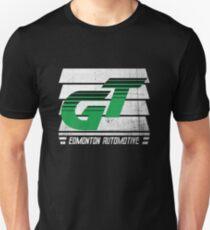Edmonton Auto - Green & White - Slotted Up Unisex T-Shirt