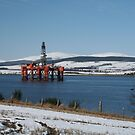 Oil Rig by Teuchter