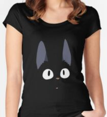 Jiji the Cat! Women's Fitted Scoop T-Shirt