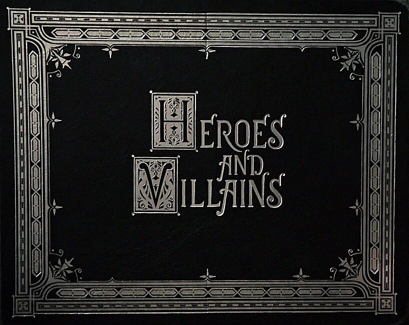 """""""once upon a time- heroes and villains book"""" by"""