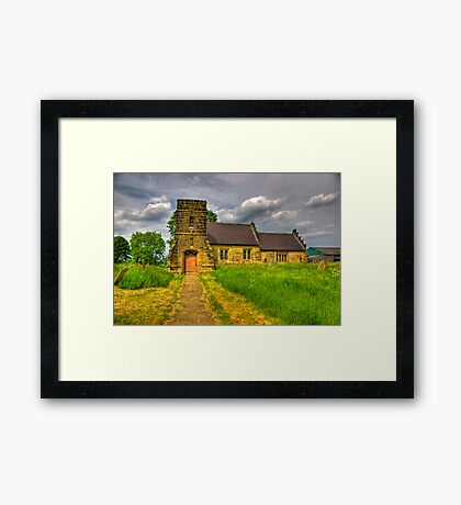 St Mary Church - Marton in the Forest Framed Print