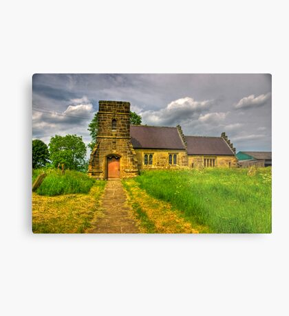 St Mary Church - Marton in the Forest Metal Print