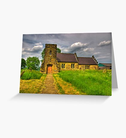 St Mary Church - Marton in the Forest Greeting Card