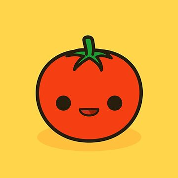 Cute tomato by peppermintpopuk