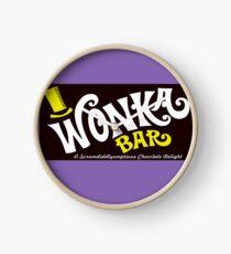 Willy Wonka Schokoriegel Uhr