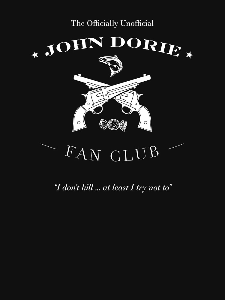 The Officially Unofficial John Dorie Fan Club (White Version) by willaMena