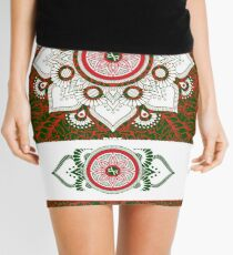 Italy Lover Italian Flag Italian American Gift Flower Mini Skirt