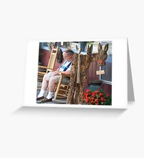Shop Hopping Can Be a Drag... Greeting Card