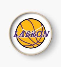 King LABron Basketball Clock