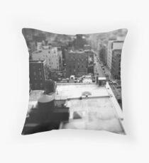 Balcony Tilt-Shift Throw Pillow