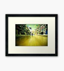 Tesco at 5 a.m. Framed Print