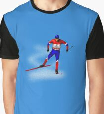 Cross-country skiing Graphic T-Shirt