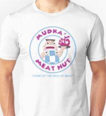 Mudka's Meat Hut Logo Unisex T-Shirt