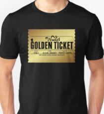 Wonka's Golden Ticket Unisex T-Shirt