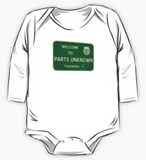 Welcome To Parts Unknown One Piece - Long Sleeve