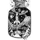 «Space Run Tattoo art» de Ruta Dumalakaite
