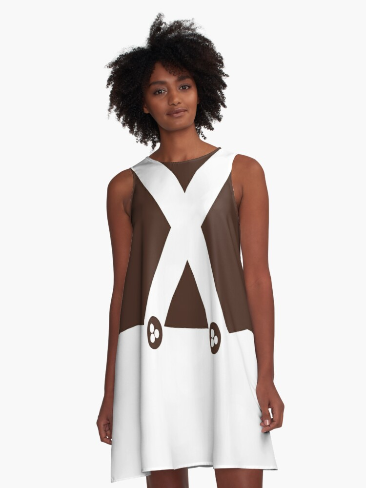 Oompa Loompa Outfit Theme A Line Dress By K L D