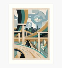 Spaghetti Junction Art Print