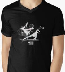 Capoeira Men's V-Neck T-Shirt