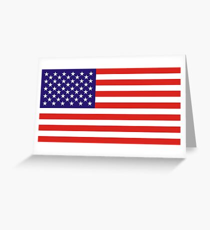 USA, national id Greeting Card