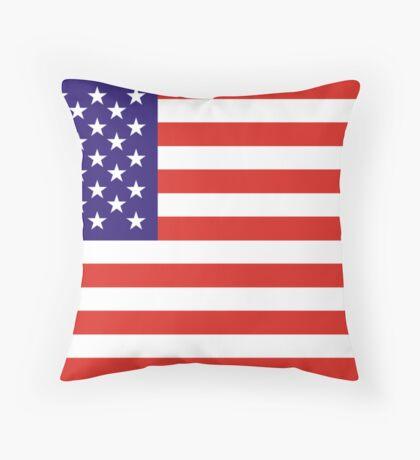 USA, national id Throw Pillow