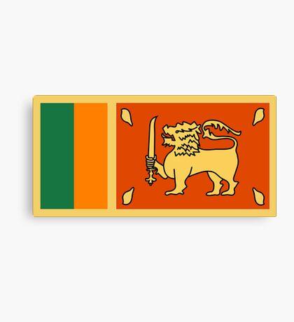 Sri Lanka, national id Canvas Print
