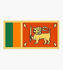 Sri Lanka, national id Photographic Print