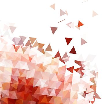 Triangle modern abstract  by lantica