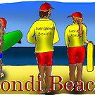 Bondi Beach by David Fraser