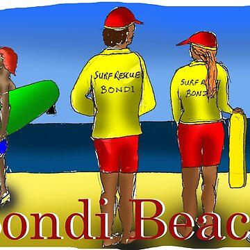 Bondi Beach by davidfraser