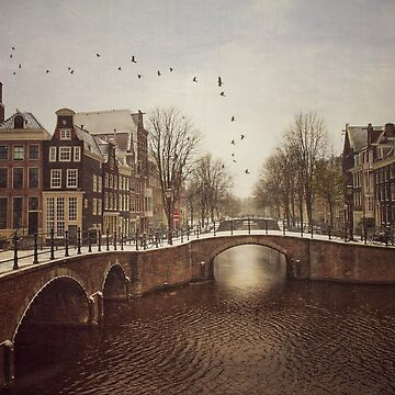 Amsterdam in Winter by zuluspice