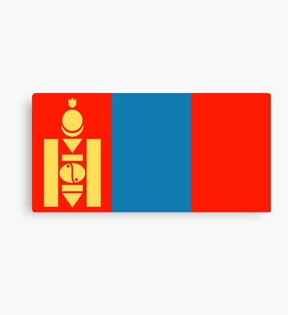 Mongolia, national id Canvas Print