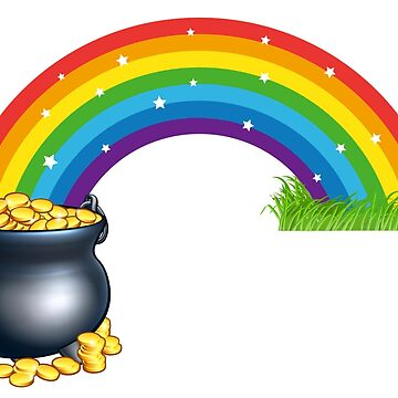 A pot of gold at the end of the rainbow. by headpossum