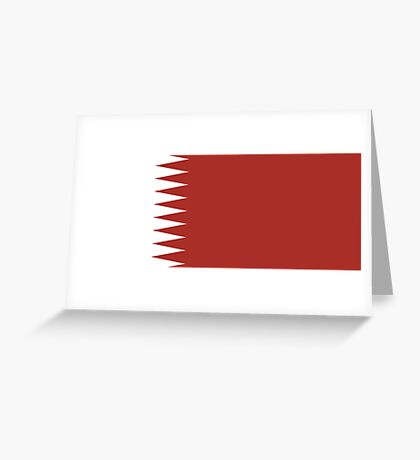 Qatar, national id Greeting Card