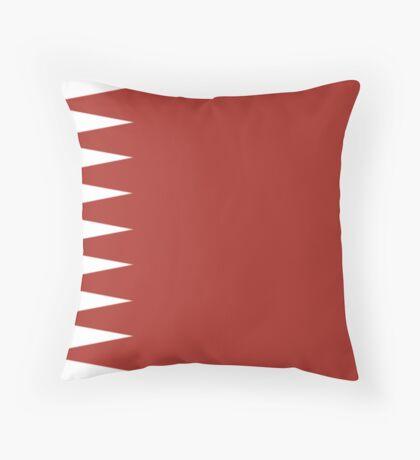 Qatar, national id Throw Pillow