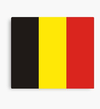 Belgium, national id Canvas Print