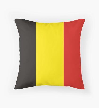 Belgium, national id Throw Pillow