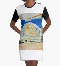 sci fi flight on mars Graphic T-Shirt Dress