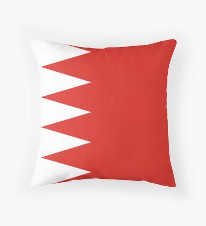 Bahrain, national id Throw Pillow