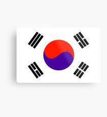 South Korea, national id Metal Print
