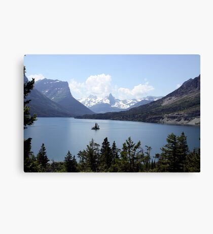 Saint Mary's Lake Canvas Print