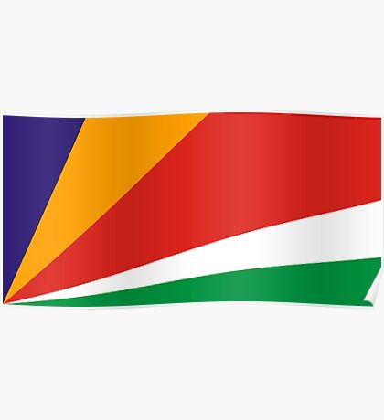 Seychelles, national id Poster