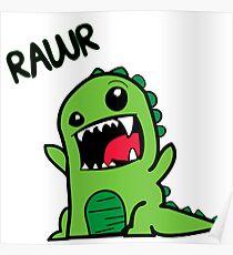 Dinosaur rawr Poster