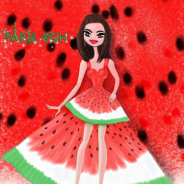 Watermelon costume by Pariscolorful