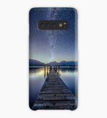 Lake Te Anau Milky Way Case/Skin for Samsung Galaxy