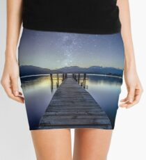 Lake Te Anau Milky Way Mini Skirt
