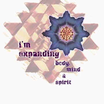 i'm expanding body, mind and spirit by sudha